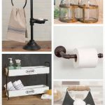 96 Models Bathroom Shelf with Industrial Farmhouse towel Bar - Tips for Buying It-9073