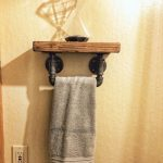 96 Models Bathroom Shelf with Industrial Farmhouse towel Bar - Tips for Buying It-9077