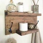 96 Models Bathroom Shelf with Industrial Farmhouse towel Bar - Tips for Buying It-9078