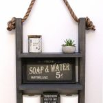 96 Models Bathroom Shelf with Industrial Farmhouse towel Bar - Tips for Buying It-9035