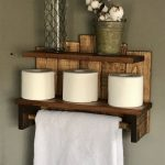 96 Models Bathroom Shelf with Industrial Farmhouse towel Bar - Tips for Buying It-9080