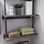96 Models Bathroom Shelf with Industrial Farmhouse towel Bar - Tips for Buying It-9082