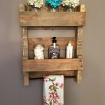 96 Models Bathroom Shelf with Industrial Farmhouse towel Bar - Tips for Buying It-9083