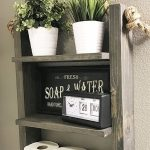 96 Models Bathroom Shelf with Industrial Farmhouse towel Bar - Tips for Buying It-9093