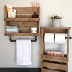 96 Models Bathroom Shelf with Industrial Farmhouse towel Bar - Tips for Buying It-9094