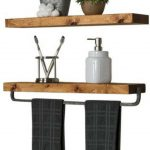 96 Models Bathroom Shelf with Industrial Farmhouse towel Bar - Tips for Buying It-9099