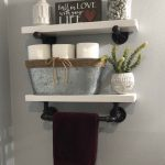 96 Models Bathroom Shelf with Industrial Farmhouse towel Bar - Tips for Buying It-9104