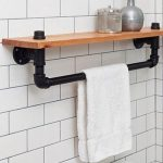 96 Models Bathroom Shelf with Industrial Farmhouse towel Bar - Tips for Buying It-9106