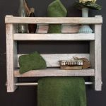 96 Models Bathroom Shelf with Industrial Farmhouse towel Bar - Tips for Buying It-9107