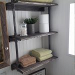 96 Models Bathroom Shelf with Industrial Farmhouse towel Bar - Tips for Buying It-9110