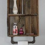 96 Models Bathroom Shelf with Industrial Farmhouse towel Bar - Tips for Buying It-9111