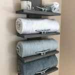 96 Models Bathroom Shelf with Industrial Farmhouse towel Bar - Tips for Buying It-9113