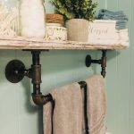 96 Models Bathroom Shelf with Industrial Farmhouse towel Bar - Tips for Buying It-9115