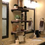 96 Models Bathroom Shelf with Industrial Farmhouse towel Bar - Tips for Buying It-9121