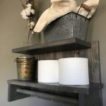 96 Models Bathroom Shelf with Industrial Farmhouse towel Bar - Tips for Buying It-9123