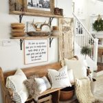 90 Most Popular Farmhouse Style Interior Design 48