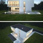 95 Models Design Modern Flat Roof Houses Awesome 84