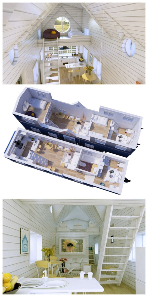 97 Cozy Tiny House Interior Are You Planning For Enough Storage 29