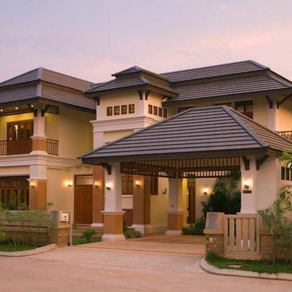 44 The Best Choice Of Modern Home Roof Design Models 14