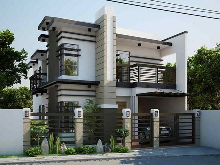 44 The Best Choice Of Modern Home Roof Design Models 22