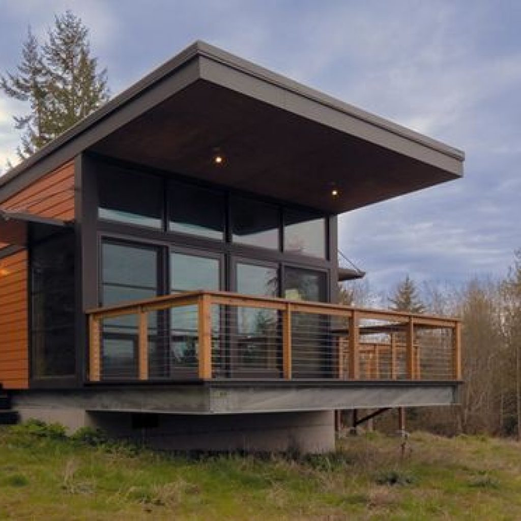 44 The Best Choice Of Modern Home Roof Design Models 40