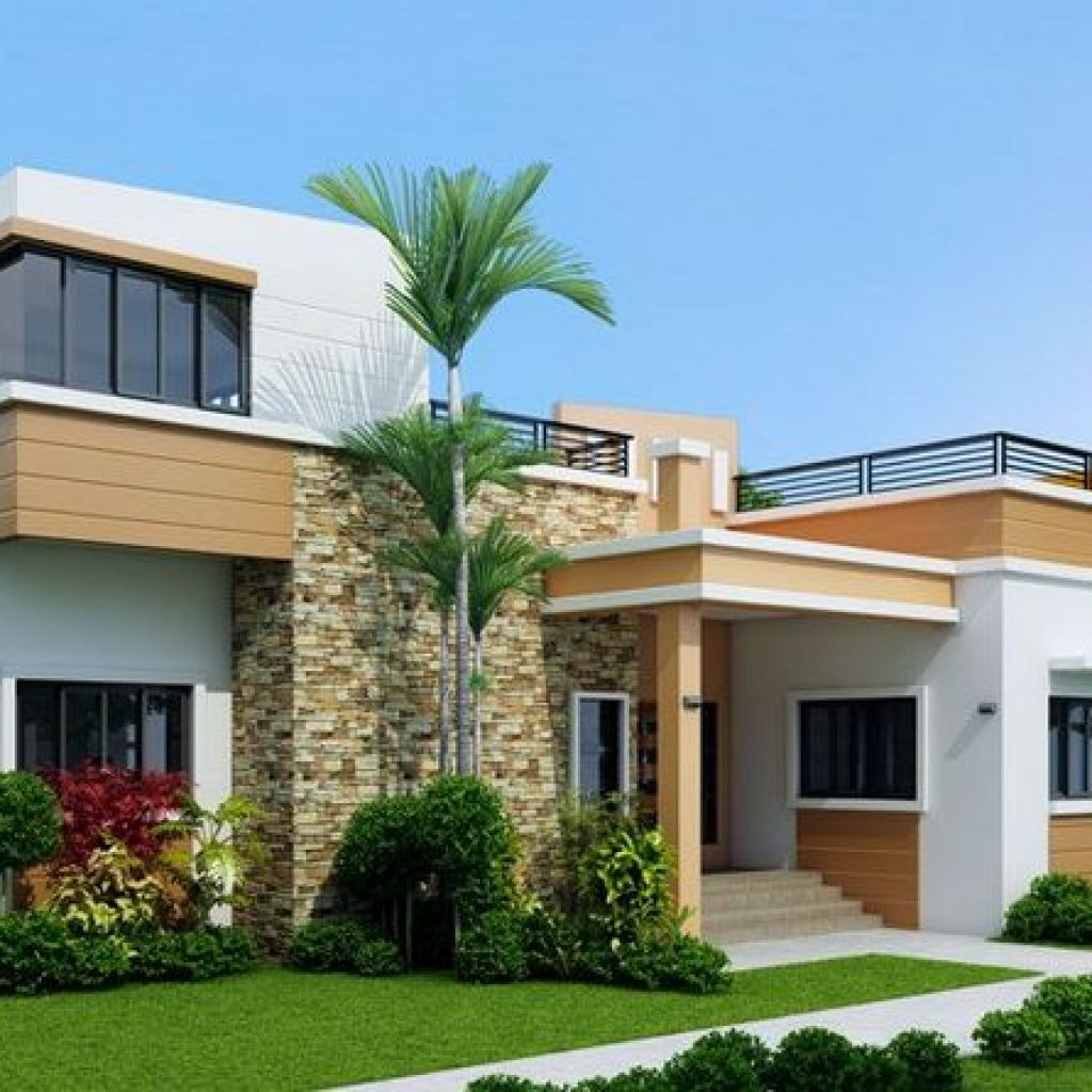 44 The Best Choice Of Modern Home Roof Design Models 5