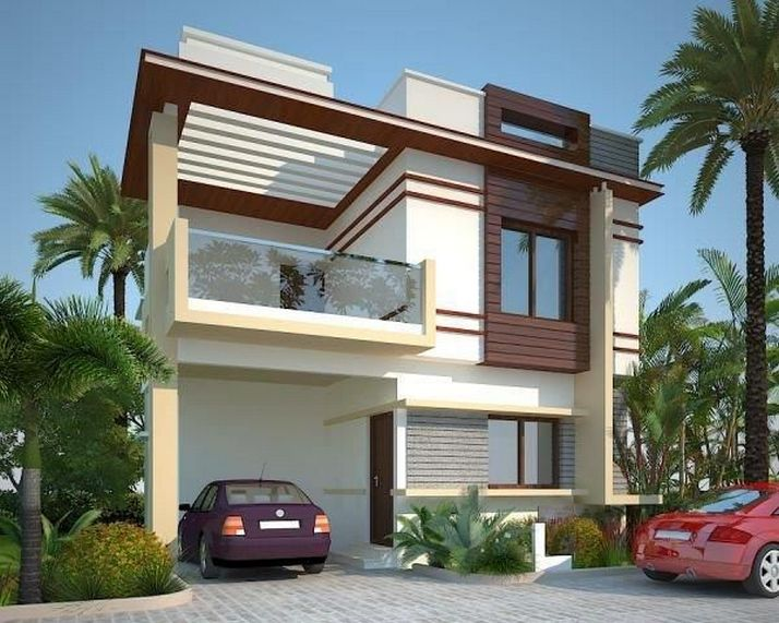 44 The Best Choice Of Modern Home Roof Design Models 7