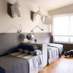 85 Master Bedroom Decoration Models With Two Beds Feel Comfortable In Use 10
