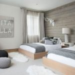 85 Master Bedroom Decoration Models With Two Beds Feel Comfortable In Use 14