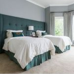 85 Master Bedroom Decoration Models With Two Beds Feel Comfortable In Use 17