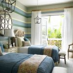 85 Master Bedroom Decoration Models With Two Beds Feel Comfortable In Use 18