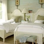 85 Master Bedroom Decoration Models With Two Beds Feel Comfortable In Use 27