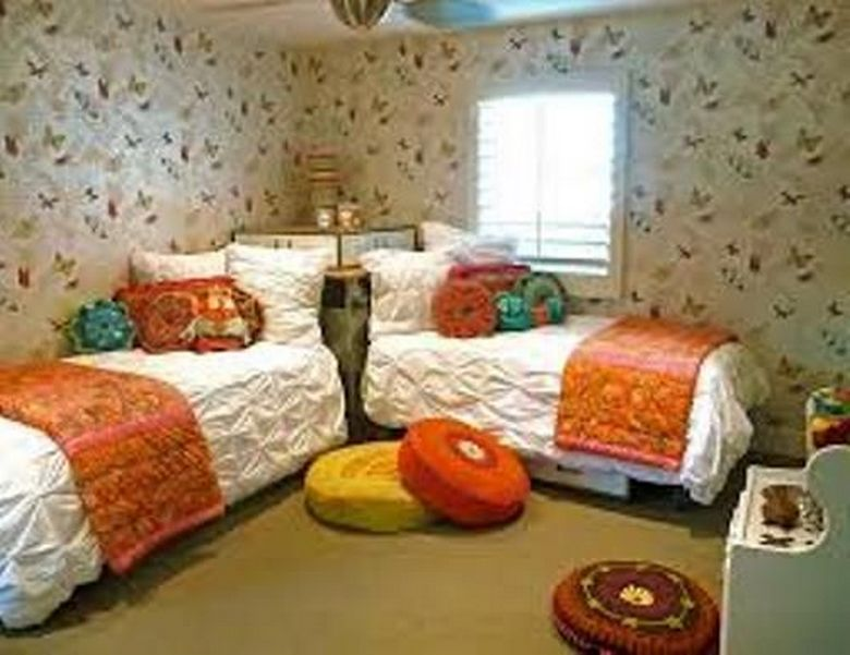 85 Master Bedroom Decoration Models With Two Beds Feel Comfortable In Use 29