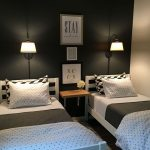 85 Master Bedroom Decoration Models With Two Beds Feel Comfortable In Use 3