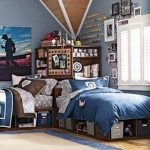 85 Master Bedroom Decoration Models With Two Beds Feel Comfortable In Use 44
