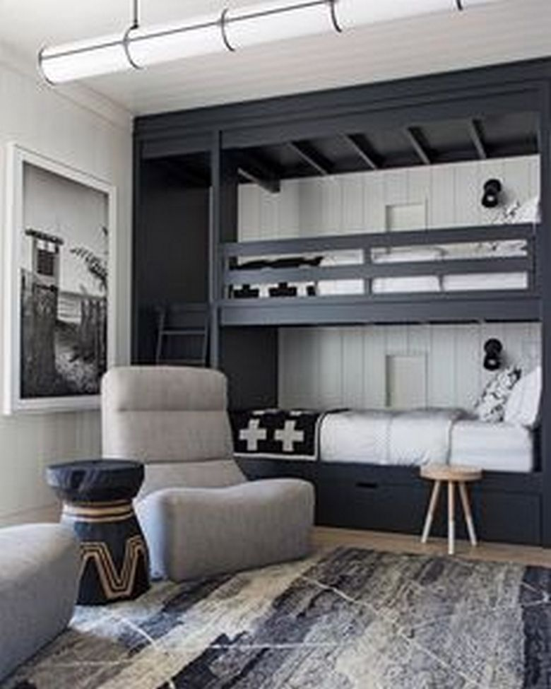 85 Master Bedroom Decoration Models With Two Beds Feel Comfortable In Use 53