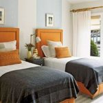 85 Master Bedroom Decoration Models With Two Beds Feel Comfortable In Use 55