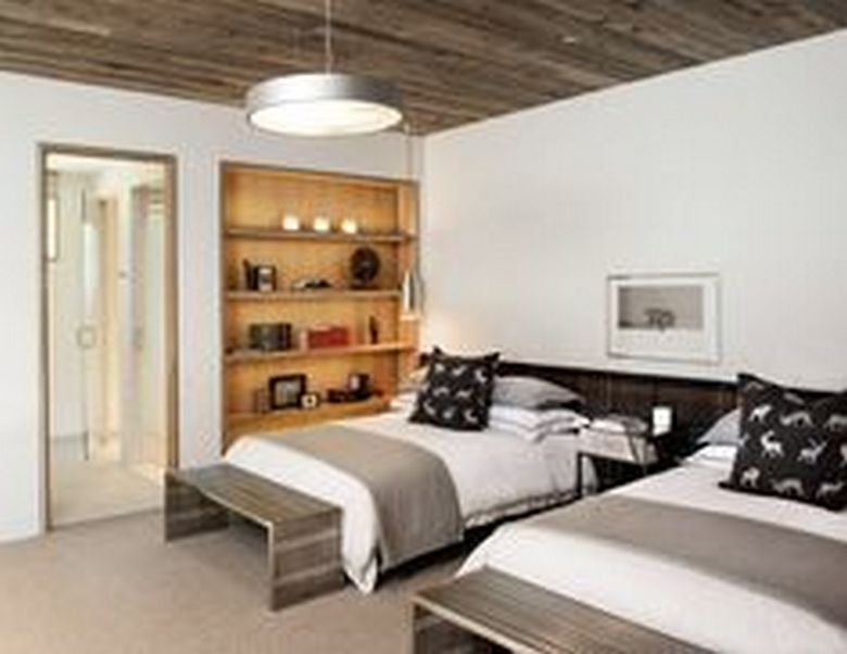 85 Master Bedroom Decoration Models With Two Beds Feel Comfortable In Use 60
