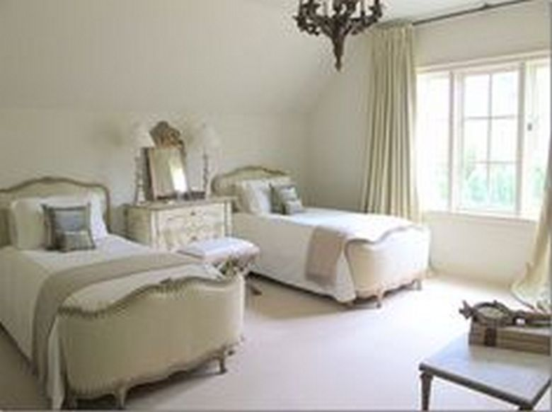 85 Master Bedroom Decoration Models With Two Beds Feel Comfortable In Use 74