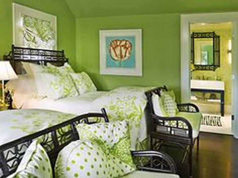 85 Master Bedroom Decoration Models With Two Beds Feel Comfortable In Use 76