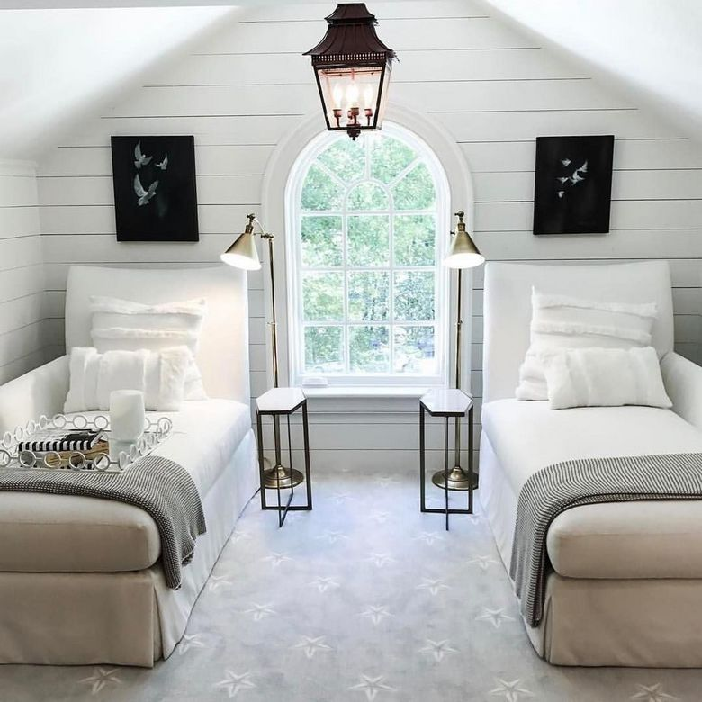 85 Master Bedroom Decoration Models With Two Beds Feel Comfortable In Use 77