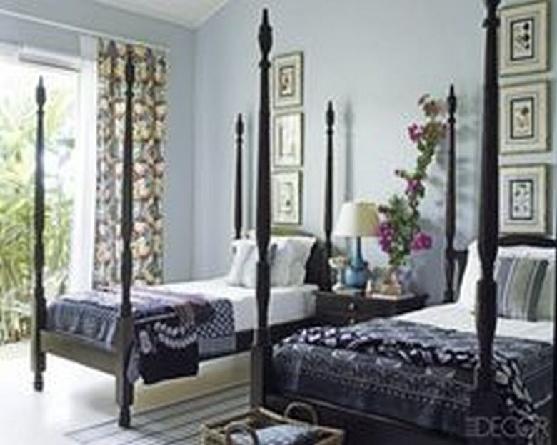 85 Master Bedroom Decoration Models With Two Beds Feel Comfortable In Use 80
