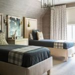 85 Master Bedroom Decoration Models With Two Beds Feel Comfortable In Use 82