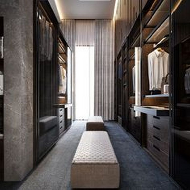 90 Modern Master Closet Models That Inspire Your Home Decor 82