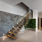 95 Cool Modern Staircase Designs For Homes (11)