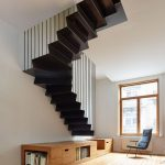 95 Cool Modern Staircase Designs For Homes (13)