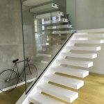 95 Cool Modern Staircase Designs For Homes (48)