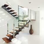95 Cool Modern Staircase Designs For Homes (50)