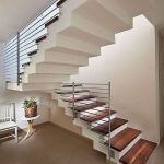 95 Cool Modern Staircase Designs For Homes (59)