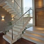 95 Cool Modern Staircase Designs For Homes (9)